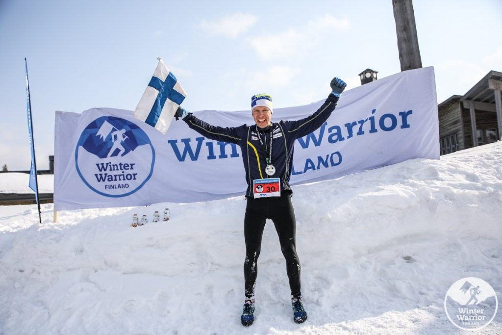 Warrior squad winner Samuli Salmenoja